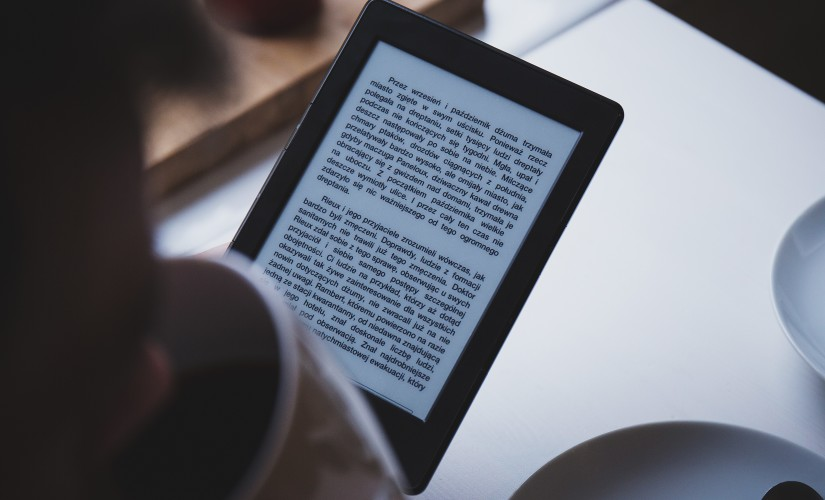 Tablet for reading guide