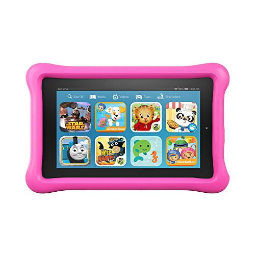 pink tablet - amazon fire kids edition