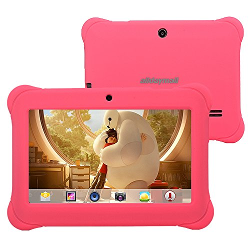"Alldaymall 7"" Quad Core Android Tablets for kids"