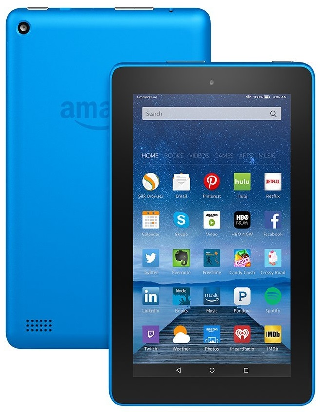 Amazon Fire Tablet Colors